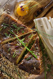 посоленный рис торта Стоковое Фото
