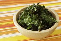 κατσαρό λάχανο τσιπ Στοκ Εικόνα
