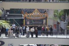 柯达剧院在加利福尼亚 免版税库存照片