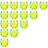 звезды номинальности Стоковая Фотография RF