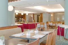 пустой ресторан Стоковое Изображение