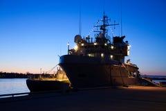 λιμάνι φρεγάτων Στοκ εικόνες με δικαίωμα ελεύθερης χρήσης