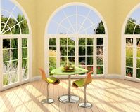 комната солнечная Стоковые Изображения RF