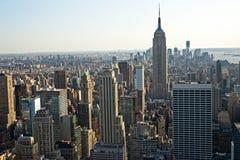 城市曼哈顿新的美国约克 免版税库存照片
