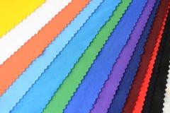 五颜六色的布料 图库摄影