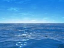 宽海洋 免版税库存图片