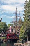迪斯尼的帆船哥伦比亚 免版税库存照片