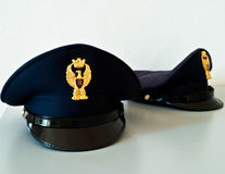 帽子意大利人警察 免版税库存照片