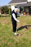 садовник старый Стоковая Фотография