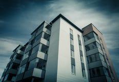 κτήριο διαμερισμάτων Στοκ εικόνα με δικαίωμα ελεύθερης χρήσης