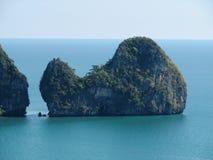 кит острова Стоковая Фотография
