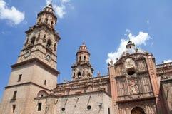 大教堂墨西哥墨瑞利亚 免版税库存图片