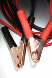 电缆夹跳接器线索 库存图片