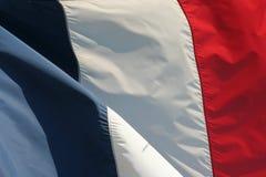 σημαία γαλλικά ανασκόπησης Στοκ Φωτογραφίες