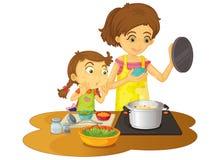 μαγείρεμα Στοκ εικόνα με δικαίωμα ελεύθερης χρήσης