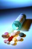 被分类的药片 库存图片