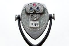 монетка биноклей работала Стоковые Фото