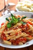 意大利面食声调 免版税库存图片