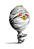 мумия цыпленока Стоковая Фотография