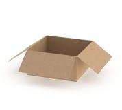 开放的配件箱 库存照片