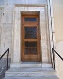 门典雅的房子 免版税库存图片
