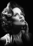 υψηλή γυναίκα μόδας έννοιας εκδοτική Στοκ Εικόνες