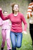 τρέχοντας γυναίκες Στοκ εικόνα με δικαίωμα ελεύθερης χρήσης