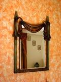 古色古香的镜子 免版税库存照片