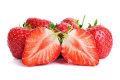 φράουλες Στοκ Φωτογραφία