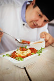 ресторан мужчины шеф-повара Стоковое Фото