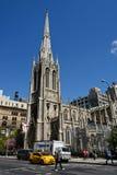 教会雍容曼哈顿 库存照片