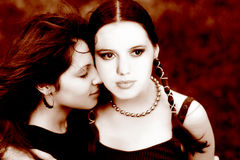 二名妇女 库存图片
