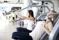 гимнастика девушок Стоковые Фотографии RF