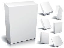 空白配件箱 免版税库存照片