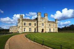 城堡英国利兹 免版税图库摄影