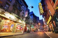 唐人街 库存照片