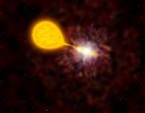взрыв Новы Стоковое Изображение RF