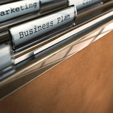 бизнес-план Стоковое Фото