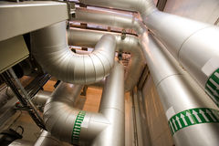 Комната двигателя Стоковая Фотография RF