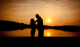 夫妇爱 免版税库存照片