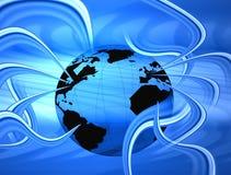 связанный проволокой мир Стоковая Фотография RF