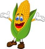 动画片玉米 免版税库存图片