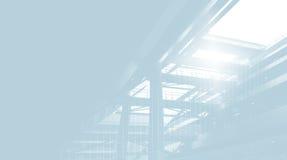 μπλε έντονο φως Στοκ Εικόνες