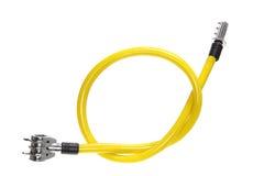 замок кабеля велосипеда Стоковые Фотографии RF