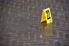 σκηνή εγκλήματος Στοκ εικόνες με δικαίωμα ελεύθερης χρήσης