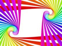 ουράνιο τόξο πλαισίων Στοκ Εικόνα