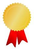 Золотая медаль Стоковые Фотографии RF