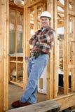 偶然建筑工人 免版税库存图片