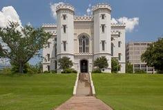 румян Луизианы капитолия здания жезла Стоковая Фотография