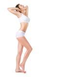 женщина красивейшего тела совершенная Стоковое Изображение